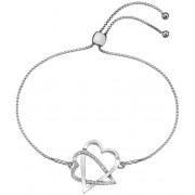 Hot Diamonds Adorabil DL576 brățară inima de argint