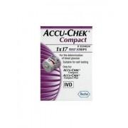 Roche Diabetes Care Italy Spa Strisce Misurazione Glicemia Accu-Chek Compact Plasma 17 Pez Zi