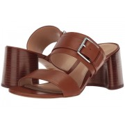 LAUREN Ralph Lauren Farie II Deep Saddle Tan Burnished Vachetta