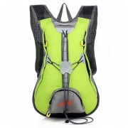 Deportes al aire libre Mochila Viajar a prueba de agua Bolsa de hombro mochila - Verde
