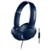 Casti Stereo Philips SHL3075BL/00, Microfon (Albastru)