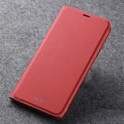 X-LEVEL PU Leather Wallet Phone Case Cover for Apple iPhone 11 6.1 inch - Red
