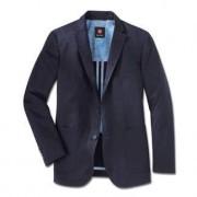 Carl Gross Pima Cotton Jacket, 40R - Dark blue