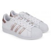 ADIDAS ORIGINALS SUPERSTAR W Sneakers For Women(White, Gold)