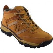 Elvace Tan Styleo Boot Men Shoes - 5044A