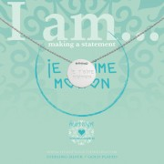 Heart to get IAM437N-JTMM-S Ketting Je t'aime maman zilver 40-44 cm