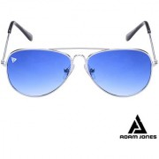 Adam Jones Gradient Blue UV Protected Unisex Aviator Sunglasses