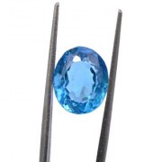 7.39 Ratti High quality Topaz stone Blue topaz Lab Certified