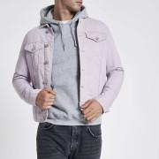 River Island Mens Light Purple denim jacket (S)