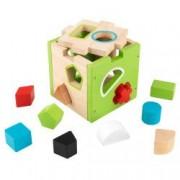 Jucarie educativa cub de sortat forme and ndash KidKraft