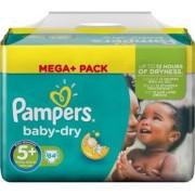 Pampers Baby Dry maat 5+ - 84 luiers