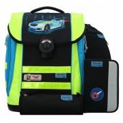 McNeill Ergo Primero Mochila escolar con accesorios set 4pz. Polizei