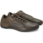 Puma Future Cat ReEng Quilted Sneakers For Men(Brown)