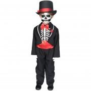 Disfraz TuDi de Muerte Catrin Calaca Halloween Niños