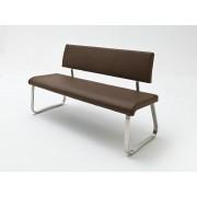 MCA Furniture Sitzbank Arco Kunstleder braun 155 cm breit