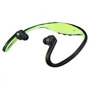 Bs19 Wireless Bluetooth On-Ear Sports Headset Headphones (Green)