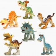 Supply Plastic Dinosaurussen Speelset voor Kinderen 6 Stuks