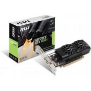 NVIDIA Tarjeta Gráfica nVidia MSI GeForce GTX 1050 TI 4GT LP 4GB GDDR5