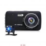 Camera Auto Zenteko Premium Full HD SM 206 cu camera spate + MicroSD 16Gb, CAR Triple
