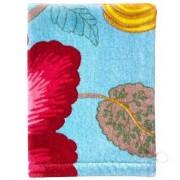 PiP Studio - ekskluzywne pościele PiP Studio ekskluzywne pościele Měkká žínka na mytí těla, doplněk do koupelny, 100% bavlna velur květinový vzor modrá barva, PiP Studio