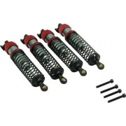 Set amortizoare hidraulice cu suruburi cu cap striat, 4 buc., Reely 1277093