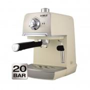 Espressor cafea Samus Aroma, 850 W, rezervor 1200 ml, presiune 20 bari, Alb/Argintiu