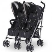 Детска количка за близнаци Cybex Twinyx Happy Black 2016, 516204001