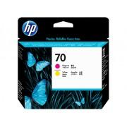 HP Cabeca de Impressao (C9406A) Nº70 Magenta e Amarelo
