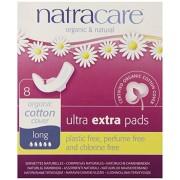 Absorbante bio Natracare Ultra Extra de noapte (5 picaturi), 8 buc