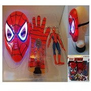 Grab Offers 3 in 1 Beautiful Gift Set Of Avenger (SPIDER MAN ) A Perfect Dress up For Kids.(3 Pcs)