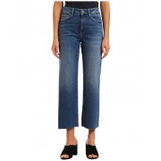Mavi Jeans Romee High-Rise Cropped Wide Leg in Dark Random '90s Dark Random 90s
