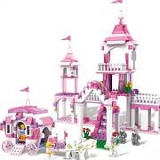 Premium COGO Girl Series 13263 Cinderella Make-up 512 Pcs Building Block Sets Bricks Toys Gifts for Girls