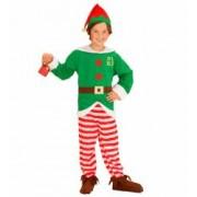 Costum Elf Mos Craciun 5 - 7 ani 128 cm