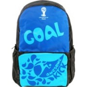 FIFA 15 inch Laptop Backpack(Blue, Black)