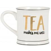 """Mugg """"""""Tea makes me wee"""""""""""