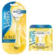 Gillette Combi Venus & Olaz Systeem + 6 mesjes