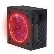 Fuente De Alimentacion Gaming Phoenix 600w Phfactorps600 Atx / Ventilador 12cm Con 15 Luces Led / Silenciosa Y Eficiente / Incluye Cable De Potencia