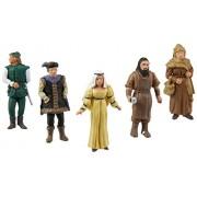 SceneARama Scene Setters(R) Figurines, Castle Dwellers 5/pkg