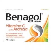Reckitt Benckiser H.(It.) Spa Benagol Vit C 16 Pastiglie Arancia