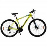 Bicicleta mountainbike Omega Thomas 27.5 cadru 49cm galben 2019