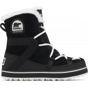 Sorel Glacy Explorer Shortie Snowboots Dames - Black - Maat 38