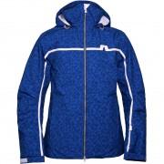 J.Lindeberg Men Jacket Sitkin blue square print