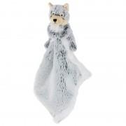 Geen Knuffel wolf grijs 25 cm kraamcadeau/kraamkado knuffels kopen
