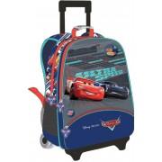 Troller, albastru-multicolor, CARS