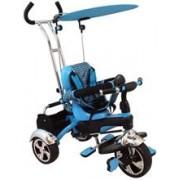Tricicleta Multifunctionala Happy Days Albastru