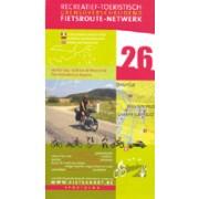 Fietskaart 26 Fietsroute-Netwerk Verdun 1914-1918 aan de Maas en de Franse Lorraine en Argonne | Sportoena