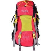 Yark Duratuff Red & Green 70 Ltrs. Climate Proof Backpack With Laptop Compartment Rucksack - 70 L(Red)