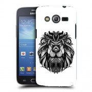 Husa Samsung Galaxy Core 4G LTE G386F Silicon Gel Tpu Model Lion Abstract