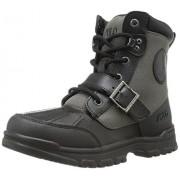 Polo Ralph Lauren Kids Colbey Boot (Toddler/Little Kid/Big Kid),Black/Slate Grey,7.5 M US Toddler