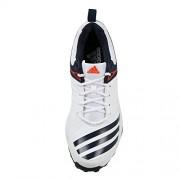 Adidas Men's 22Yards Trainer 17 Ftwwht/Conavy/Energy Cricket Shoes - 9 UK/India (43.33 EU)